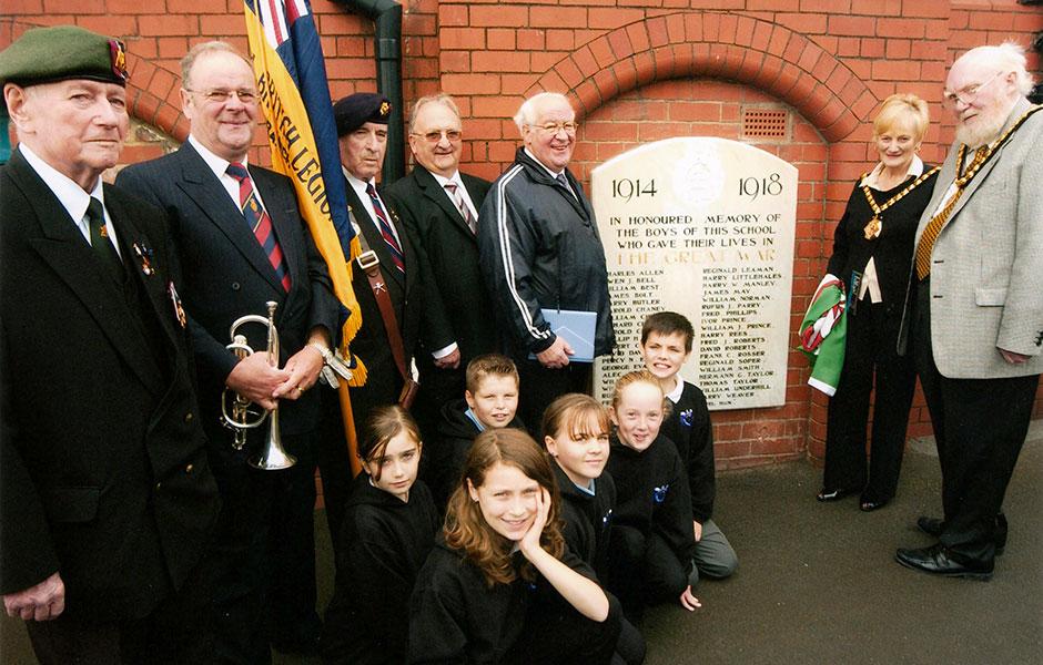 Gladstone School Memorial