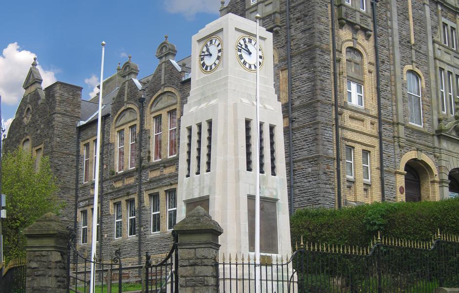 Blaenafon War Memorial Clock Tower