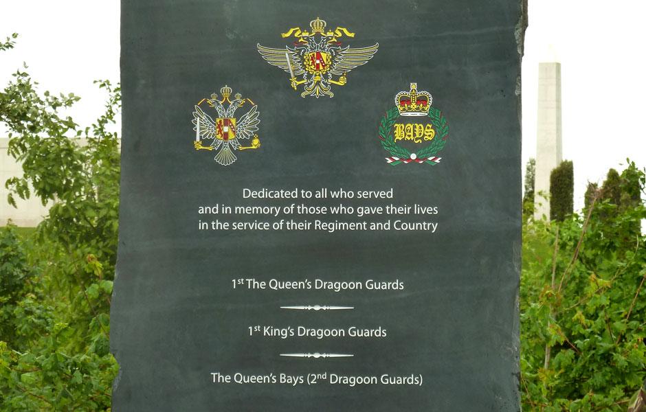Queen's Dragoon Guards Memorial – May 26, 2011