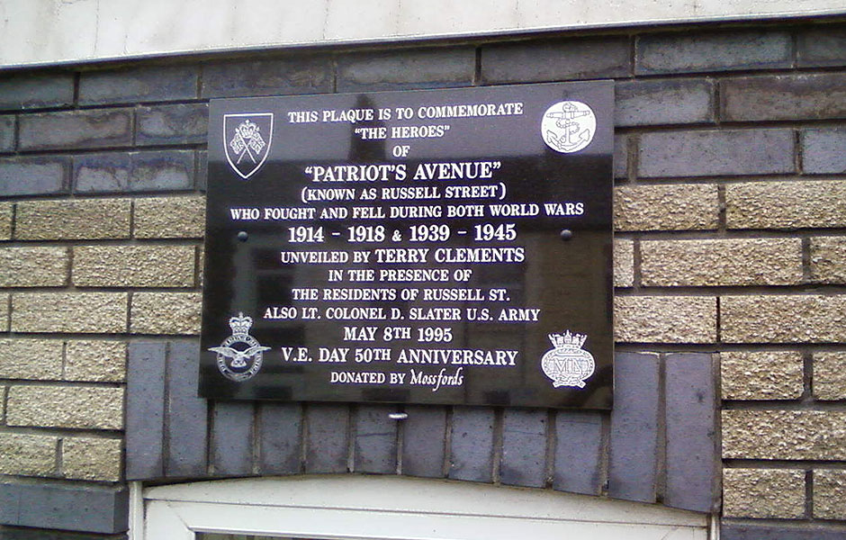 Patriots Avenue