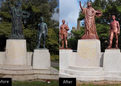 Llandaff War Memorial, restoration, conservation
